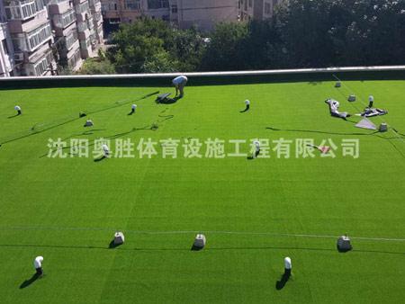 大东三十五中学人造草坪