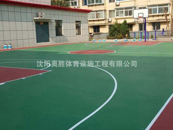 泰山路公安厅篮球场