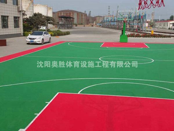 沟帮子兰星石油篮球场