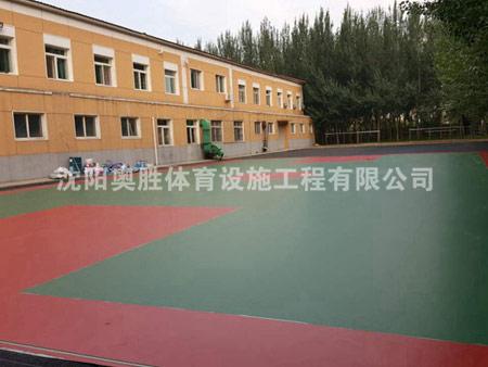 沈阳部队篮球场