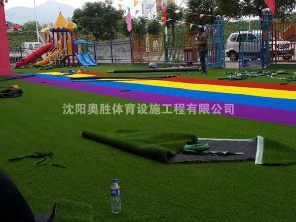 朝阳幼儿园草坪